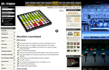 http://www.thomann.de/de/novation_launchpad.htm