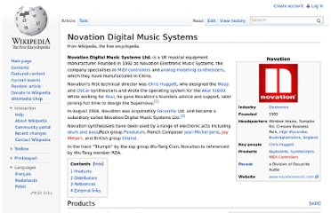 http://en.wikipedia.org/wiki/Novation_Digital_Music_Systems
