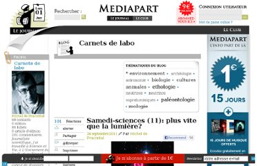 http://blogs.mediapart.fr/blog/michel-de-pracontal/240911/samedi-sciences-11-plus-vite-que-la-lumiere