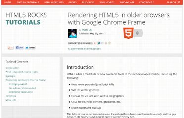 http://www.html5rocks.com/en/tutorials/google-chrome-frame/
