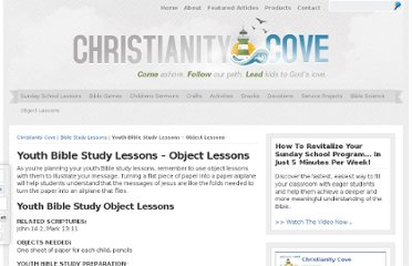 Free Youth Bible Study Lessons These free printable studies are designed to ...