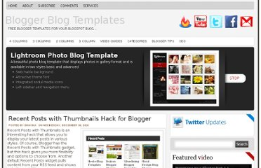 http://www.bloggerblogtemplates.com/2010/12/recent-posts-with-thumbnails-hack-for.html