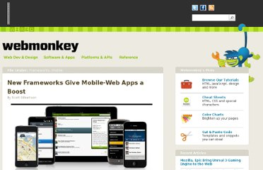 http://www.webmonkey.com/2010/06/new-frameworks-give-mobile-web-apps-a-boost/