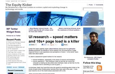 http://www.theequitykicker.com/2010/06/23/ui-research-speed-matters-and-10s-page-load-is-a-killer/