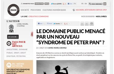 http://owni.fr/2010/07/01/le-domaine-public-menace-par-un-nouveau-%c2%ab-syndrome-de-peter-pan-%c2%bb/