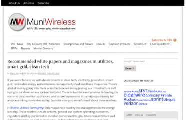 http://www.muniwireless.com/2010/07/14/white-papers-magazines-smart-grid-utilities/
