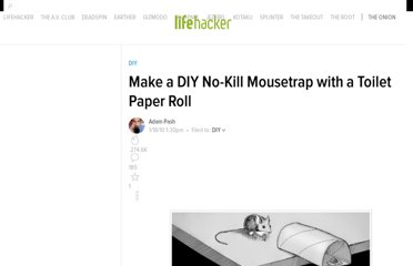 http://lifehacker.com/5451065/make-a-diy-no+kill-mousetrap-with-a-toilet-paper-roll