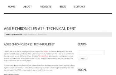 http://jessewarden.com/2010/07/agile-chronicles-12-technical-debt.html