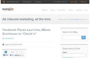 http://blog.hubspot.com/blog/tabid/6307/bid/6450/Facebook-Places-Launches-Allows-Businesses-to-Check-In.aspx