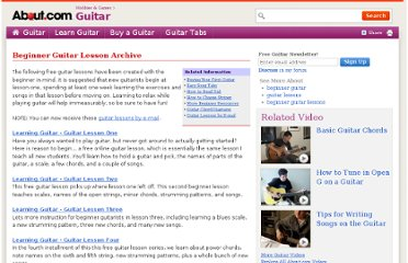 http://guitar.about.com/library/blguitarlessonarchive.htm