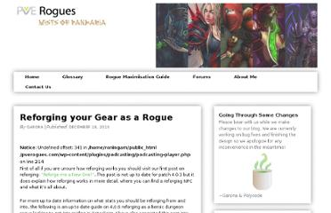 http://www.pverogues.com/cataclysm/reforging-your-gear-as-a-rogue/