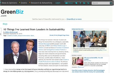 http://www.greenbiz.com/blog/2010/09/07/10-things-ive-learned-from-leaders-in-sustainability