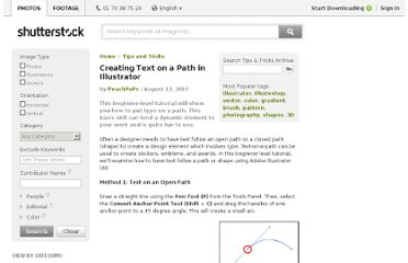 http://www.shutterstock.com/tips-tricks/Creating-Text-on-a-Path-in-Illustrator-562.html?sid=STUP1019