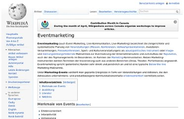 http://de.wikipedia.org/wiki/Eventmarketing
