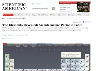 http://www.scientificamerican.com/article.cfm?id=chemistry-the-elements-revealed-interactive-periodic-table