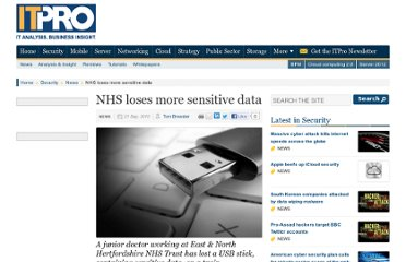 http://www.itpro.co.uk/627082/nhs-loses-more-sensitive-data