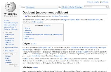 http://fr.wikipedia.org/wiki/Occident_(mouvement_politique)