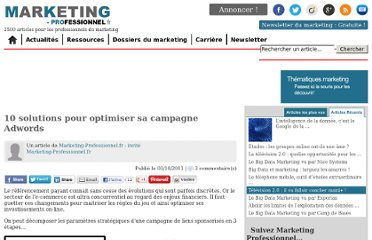 http://www.marketing-professionnel.fr/tribune-libre/publicite-digitale-10-solutions-comment-optimiser-sa-campagne-adwords-google-201110.html