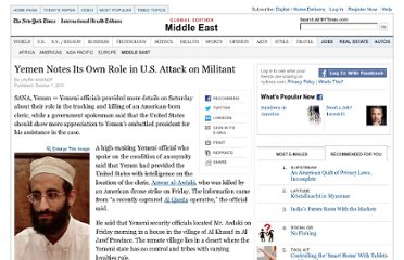 http://www.nytimes.com/2011/10/02/world/middleeast/yemen-notes-its-own-role-in-us-attack-on-militant.html