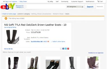 http://www.ebay.com/itm/NIB-Sofft-TYLA-Red-Oak-Dark-Brown-Leather-Boots-10-/150422034225