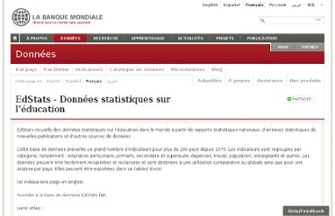 http://donnees.banquemondiale.org/catalogue/edstats
