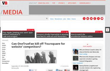http://venturebeat.com/2010/09/27/can-onetruefan-kill-off-%e2%80%98foursquare-for-website%e2%80%99-competitors/
