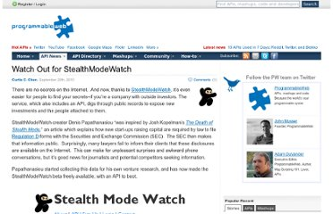 http://blog.programmableweb.com/2010/09/20/watch-out-for-stealthmodewatch/