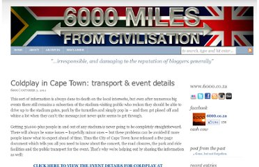http://6000.co.za/coldplay-cape-town-transport-events/