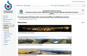http://commons.wikimedia.org/wiki/Commons:Featured_pictures/Places/Panoramas