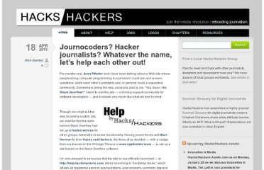 http://hackshackers.com/blog/2010/04/18/journocoders-hacker-journalists-whatever-the-name-lets-help-each-other-out/