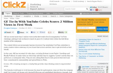 http://www.clickz.com/clickz/news/1741932/ge-tie-youtube-celebs-scores-million-views