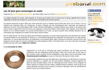 http://www.pasbanal.com/Les-10-plus-gros-mensonges-en-audio_132.php