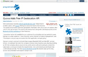 http://blog.programmableweb.com/2010/11/04/quova-adds-free-ip-geolocation-api/