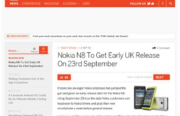 http://thenextweb.com/mobile/2010/09/02/nokia-n8-to-get-early-uk-release-on-23rd-september/