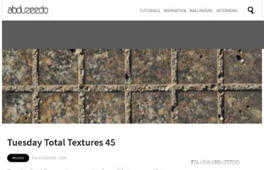 http://abduzeedo.com/tuesday-total-textures-45