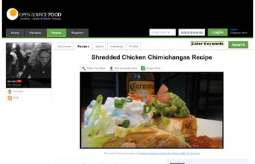 http://www.opensourcefood.com/people/kimdec/recipes/shredded-chicken-chimichangas
