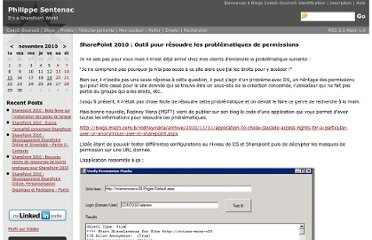 http://blogs.developpeur.org/phil/archive/2010/11/15/sharepoint-2010-outil-pour-resoudre-les-problematiques-de-permissions.aspx