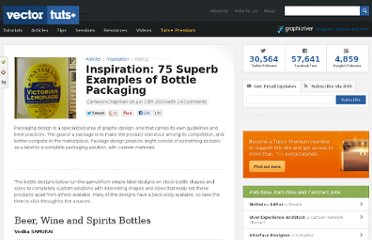 http://vector.tutsplus.com/articles/inspiration/inspiration-75-superb-examples-of-bottle-packaging/