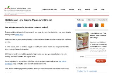 http://www.low-caloriediet.com/articles/low-calorie/low-calorie-meals#budget