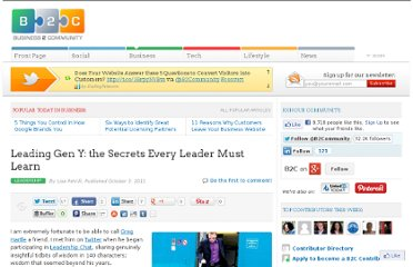 http://www.business2community.com/leadership/leading-gen-y-the-secrets-every-leader-must-learn-065079