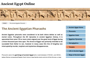 http://www.ancient-egypt-online.com/ancient-egyptian-pharaohs.html