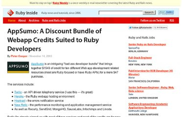 http://www.rubyinside.com/appsumo-a-discount-bundle-of-webapp-credits-suited-to-ruby-developers-3959.html