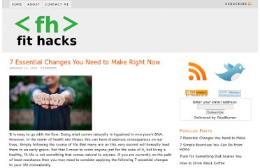 http://www.fithacks.com/index.php/2010/01/14/7-essential-changes-you-need-to-make-right-now/