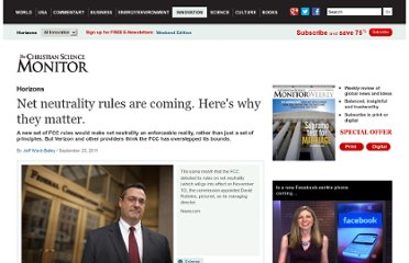 http://www.csmonitor.com/Innovation/Horizons/2011/0923/Net-neutrality-rules-are-coming.-Here-s-why-they-matter