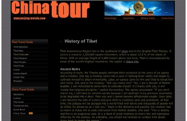 http://www.beijing-travels.com/china_tour/tibet/history.html