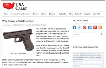 http://www.usacarry.com/why-i-carry-a-9mm-handgun/