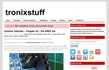 http://tronixstuff.wordpress.com/2010/12/07/tutorial-arduino-and-the-aref-pin/