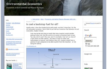 http://www.env-econ.net/2010/12/is-coal-a-backstop-fuel-for-oil.html