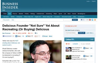 http://www.businessinsider.com/delicious-founder-not-sure-yet-about-recreating-or-buying-delicious-2010-12