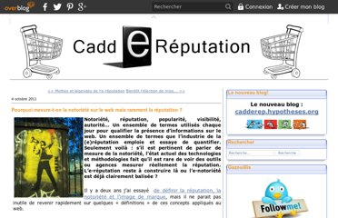 http://caddereputation.over-blog.com/article-pourquoi-mesure-t-on-la-notoriete-sur-le-web-mais-rarement-la-reputation-85808652.html
